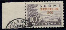 FINLAND #C1 (165) 10mk Zeppelin, used, VF, Scott $290.00