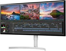"""LG 34WK95U 34"""" IPS LED 5K UltraWide HD Monitor - White"""