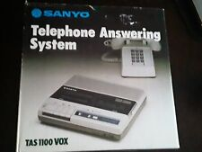 Sanyo TAS 1100 VOX Answering System