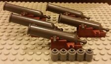 LEGO NEW 5x COMPLETE Cannons For Black Pearl 4184 And Queen Anne's Revenge 4195
