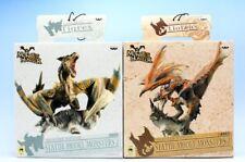 Monster Hunter DX Statue model Monsters 2 All 2 types full set with Poster F/S