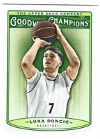 Luka Doncic 2018 Upper Deck UD Goodwin Champions RC