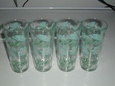 "4 Taylor Smith & Taylor EVER YOURS BOUTONNIERE 6.5"" Iced Tea Glasses 14oz"