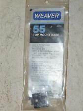 NOS Weaver 55 Base For Mauser, Mossberg Western Field etc. INV12721