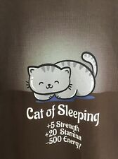 New Woot Tee Shirt American Apparel Xl Cat Of Sleeping sold out! Remix? One-off?