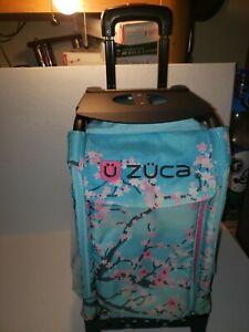 ZUCA Rolling Sports Bag, Hanami Bag black Frame cherry blossom ice skating