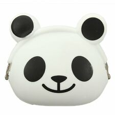 Women Girls Wallet Kawaii Cute Cartoon Animal Silicone Jelly Coin Bag Purse N3