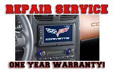 2005-2012 CORVETTE OEM NAV NAVIGATION RADIO REPAIR SERVICE FIX REMANUFACTURE