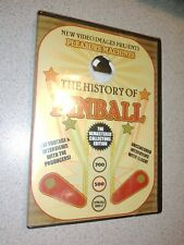 """""""The History Of Pinball"""" Sealed DVD Free Shipping"""