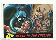 1994 Topps MARS ATTACKS Base Card # 29 Death In The Shelter