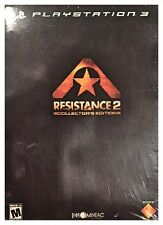 Resistance 2 Collector's Edition (PS3, 2008) Brand New Sealed - Free U.S. Ship