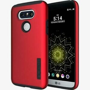 Incipio DualPro Case Cover for LG G5 - Iridescent Red/Charcoal