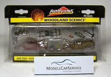 Woodland Scenics 1/87: AS5563 Alte Autowracks / Junk Cars
