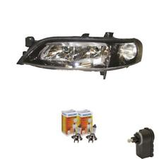 Scheinwerfer rechts Opel Vectra B 99-02 klar/schwarz H7+h7 inkl. Mo 57199378