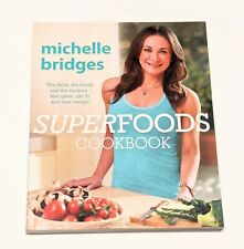 Superfoods Cookbook by Michelle Bridges Paperback- Free Shipping