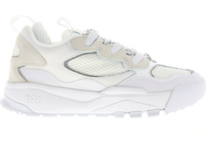 Supra Muska 2000  Sz 10 * NEW * Mens White Leather Low Top Skate Sneakers Shoes