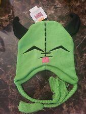 New Nickelodeon INVADER ZIM / GIR Beanie tassels cap