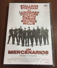 LOS MERCENARIOS - 1 DVD CON EXTRAS - 104 MIN - NEW SEALED - NUEVO EMBALADO NEW