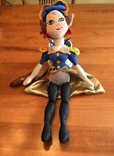"Disney Store Treasure Planet Captain Amelia Plush Doll Stuffed Pirate Toy 18"""