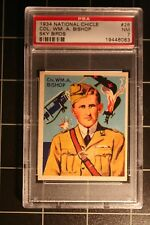 1934 National Chicle Sky Birds #26 Col. WM. A. Bishop - PSA-7