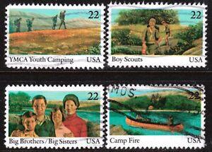 Scott #2160-63 Used Set of 4, International Youth Year
