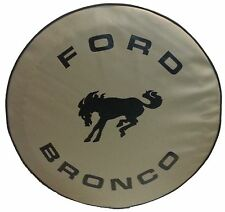 "SpareCover® ABC Series - FORD BRONCO 32"" TAN Heavy Duty Vinyl Tire Cover"