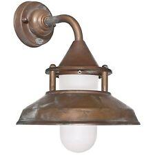 Bateau Lampe extérieure Lampe murale extérieure Lampe Laiton 230 V e27 Max. 75 W Moretti