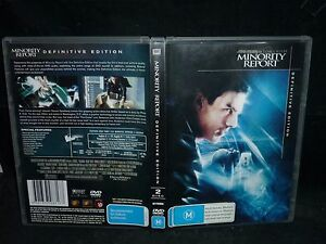 MINORITY REPORT (2-DISC DEFINITIVE EDITION) (DVD, M)