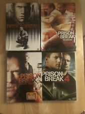 Prison Break 1 - 4 Complete Series Dvd Season 1 2 3 4 New