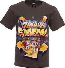 Subway Surfers niños o Niña Camiseta manga corta Edad 3-4 AÑOS