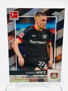 2020-21 Topps Chrome Bundesliga Florian Wirtz Base Card #64 - Bayer 04