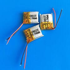 3 PEZZI 3.7v 40mah Lipo Batteria in polimero 401215 per mp3 Auricolare Bluetooth a penna
