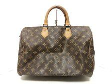 Auth LOUIS VUITTON Speedy 35 M41524 Monogram MB0941 Handbag