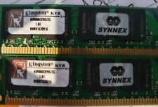 Kingston  2GB x 2 (4GB Total) KVR800D2N5/2G 800MHz DDR2 Memory RAM + BONUS 2Gb