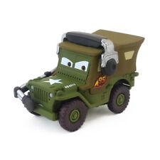 Disney Pixar Cars Sarge With Headset Metal Diecast Toy Car 1:55 Kids Gifts