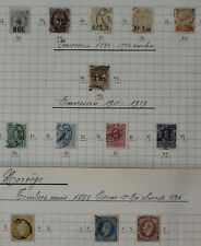 Norway, Collection of Classic Stamps, High CV  #m120