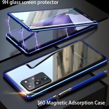 For Xiaomi Mi 11 Ultra 10T 10 Pro Lite Full Magnetic Metal Glass Case Cover
