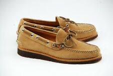 NEW W BOX | RANCOURT X SPERRY 8D GOLD CUP SUEDE BOAT SHOES MADE IN MAINE