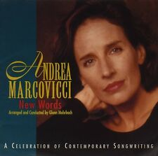 2 CDs!  ANDREA MARCOVICCI  Here, There and Everywhere  AND  New Words