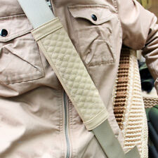 Car Vehicle Safety Belts Shoulder Pad Protector Cover Relaxing Accessories Beige