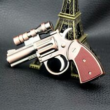 Windproof Gas Lighter Metal With Laser Pointer Refillable Brand New