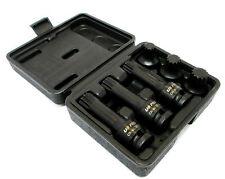 """1/2"""" Dr Impact Spline Star  Bit Socket Set 6pc By US Pro 1400 New Garages etc"""