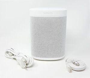 Sonos One Smart Speaker WLAN Lautsprecher Alexa Sprachsteuerung AirPlay weiß