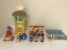 Happyland ELC Airport complete with 3 figures and sound in plane