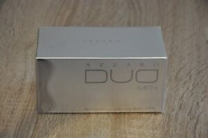 AZZARO DUO for MEN EDT 50ml Spray,  DISCONTINUED, New in Box, Sealed