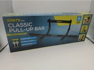 Premium Pull-Up Bar By IGNITE - Up To 300lbs Weight Capacity - NEW -