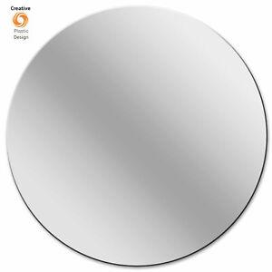 Mirror Circle Acrylic Mirror Disc Shatter Resistant Frameless Circular Mirror
