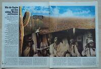 EAGLES  -  Clipping/Bericht aus dem Jahr 1977 - Musikzeitschrift