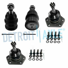 4 pc Kit: Front Upper & Lower Ball Joints for Chevrolet GMC