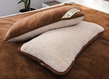 deux chameau 100% laine mérinos oreillers 58.4cm x 91.4cm/58x92cm couvercle